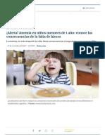 ¡Alerta! Anemia en niños menores de 1 año_ conoce las consecuencias de la falta de hierro _ RPP Noticias.pdf