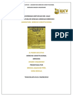 Informe Derecho Constitucional