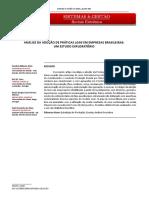 Analise da adoção de práticas lean em empresas brasileiras