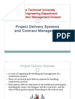 7-Project Delivery Systems