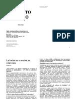 Freire, Paulo - El Grito Manso. La Lucha No Se Acaba... - La Confrontación No Es Pedagógica...