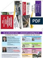 2019 Lakewood Neighbors for Good Goverment Voter Guide