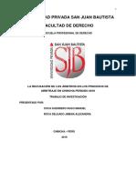 Trabajo de Investigacion Arbitraje[1]