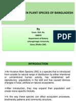 Invasive Alien Species Of Bangladessh
