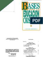 252006027 Bases Para La Educacion Cristiana Hayward Armstrong