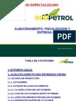 Almacenamiento y fiscalizacion de hidrocarburos