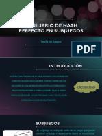 Equilibrio de Nash Expansión(2)