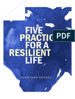 Sheridan Voysey Five Practices for a Resilient Life