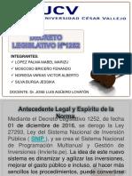 LEY Nª1252