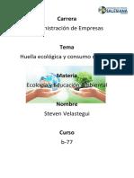 Ensayo Steven Velastegui