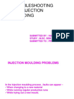 Trouble Shooting for INJECTION MOULDING