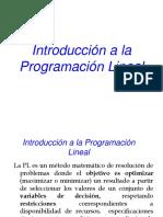ProgramacionLineal introduccion