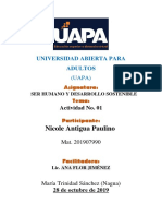 TAREA No III Nicole Antigua Paulino