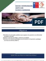 Sintomas psicologicos en pacientes de cuidados paliativos