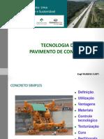 TECNOLOGIA DE PAVIMENTO DE CONCRETO