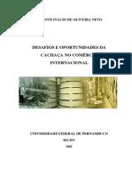 Tese de Mestrado - Cachaça Desafios e Oportunidades Da Cachaça No Comércio Internacional 2005 - UFPE