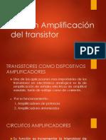 Acción Amplificación del transistor.pptx