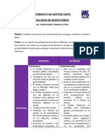 Secretaría de Gestión Pública (DAFO, Objetivos, metas y cronograma)..docx