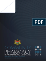 Community Pharmacy Benchmarking Guideline 2011