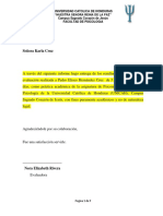 Informe Psicologico Inventario de Desarrollo Batelle