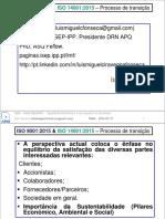 ISO 9001 e 14001:2015