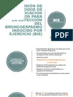 Broncoobstrucción Inducida por Ejercicio