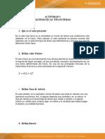 Actividad 3 Matematicas Financiera