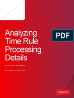 Analyzing Time Rule Processing Details for Oracle Fusion Time and Labor Oct2018