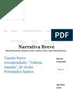 Cuento de Jesús Fernández Santos