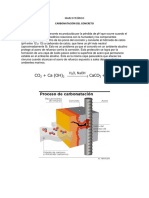 MARCO TEÓRICO - Carbonatación Del Concreto