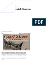 Fall Asleep Fast — in 2 Minutes or Less _ Art of Manliness