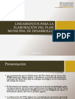 Presentación Lineamientos PMD