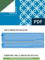 Formulación de proyectos de Innovación Pedagógica