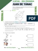 Ficha Mapa Del Peru y Sus Regiones Para Tercero de Primaria