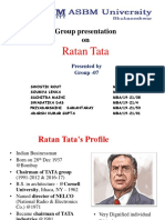 Ratan Tata Biography