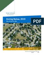 City of Fort St. John Zoning Bylaw No. 2470, 2019