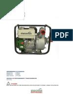 Manual Motobombas Maqver Gasolina LTP50C LTP80C LTP100C