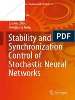 Stability And Synchronization Control Neural Networks