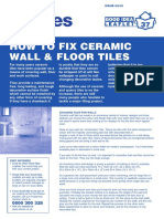 Wickes Tiling Guide