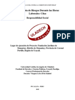 Avance Del Contenido Terórico, Cita y Referencias Bibliográfica