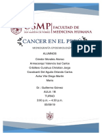 Cancer en El Peru