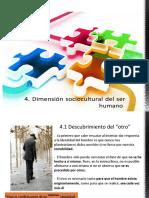 UNIDAD 4 Dimensión Sociocultural