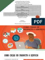 Como Elaborar Un Producto o Servicio