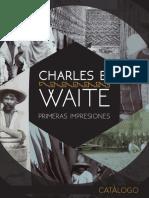 Charles B. Waite primeras impresiones