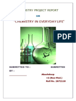 81458597 Chemistry in Everyday Life