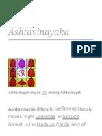 Ashtavinayaka - Wikipedia