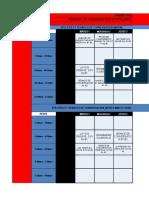 Programación de Clubes Francés Cundinamarca 2019