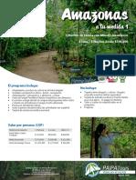 1. Amazonas a Tu Medida 1_ 4 Dias-3 Noches - Paipa Tours