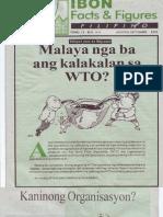 Malaya Nga Ba Ang Kalakalan sa WTO?