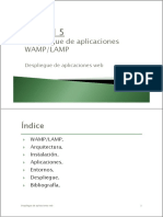 5.2 - Despliegue de Aplicaciones WAMP-LAMP